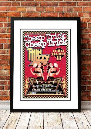 Cheap Trick / Thin Lizzy 'Double Trouble' Australian Tour 2006