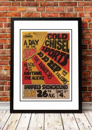 Cold Chisel / Sports / Jo Jo Zep / Radiators / Mental As Anything ' A Day In The Sun' Sydney, Australia 1979