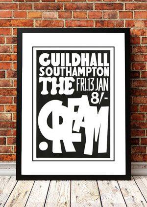 Cream (Eric Clapton) 'Guildhall' Southampton, UK 1967