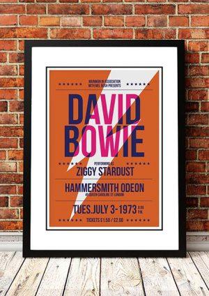 David Bowie 'Hammersmith' London, UK 1973