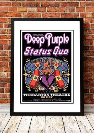 Deep Purple / Status Quo 'Double Trouble' Australian Tour 2006