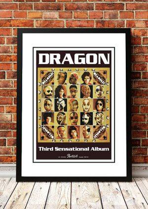 Dragon 'O Zambezi' In Store Poster 1978