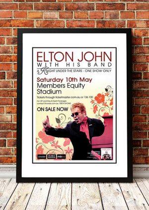 Elton John 'A Knight Under The Stars' Perth, Australia 2008