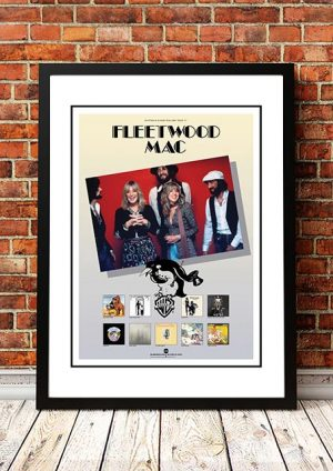 Fleetwood Mac 'Australian Tour' In Store Poster 1977