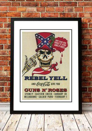 Guns N' Roses 'Australian Tour' 1993