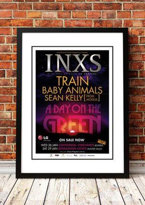 INXS / Train / Baby Animals 'A Day On The Green' Sydney, Australia 2011