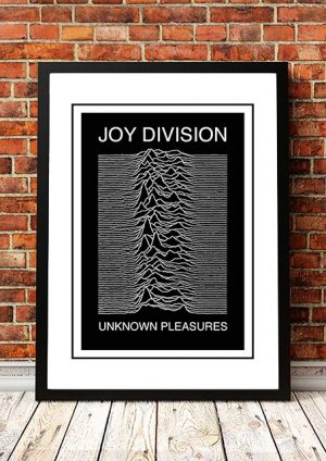 Joy Division 'Unknown Pleasures' In Store Poster 1979