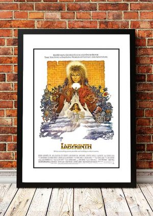 David Bowie 'Labyrinth' Movie Poster 1986