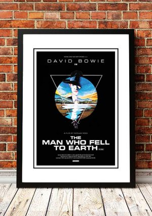 David Bowie 'Man Who Fell To Earth' Movie Poster 1976
