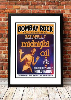 Midnight Oil 'Bombay Rock' Melbourne, Australia 1979