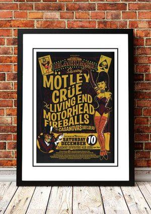 Motley Crue / The Living End / Motorhead 'Blackjack' Perth, Australia 2005