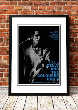 Paul Kelly 'Gossip' In Store Poster 1986