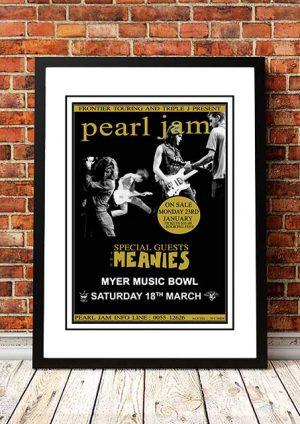 Pearl Jam 'Myer Music Bowl' Melbourne, Australia 1995