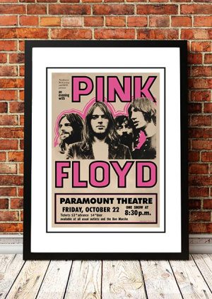 Pink Floyd 'Paramount Theatre' Seattle, USA 1971