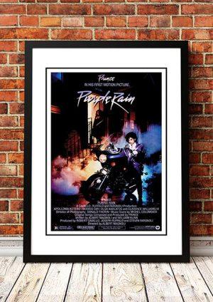 Prince 'Purple Rain' Movie Poster 1984