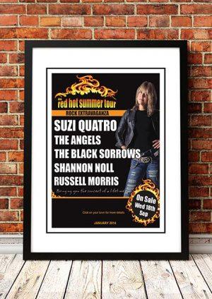 Suzi Quatro / The Angels / Black Sorrows 'Red Hot Summer' Australian Tour 2018