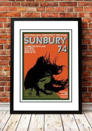 Queen / Skyhooks / Dingoes / Daddy Cool 'Sunbury Music Festival' Sunbury, Australia 1974