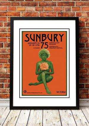 Billy Thorpe / Daddy Cool / Skyhooks / Sherbet 'Sunbury Music Festival' Sunbury, Australia 1975