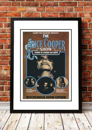 Alice Cooper 'The Alice Cooper Show' Australian Tour 1978