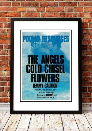 The Angels (Angel City) / Cold Chisel / Flowers 'Apollo Stadium' Adelaide, Australia 1979