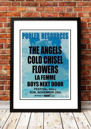 The Angels (Angel City) / Cold Chisel / Flowers / La Femme / Boys Next Door 'Festival Hall' Melbourne, Australia 1979