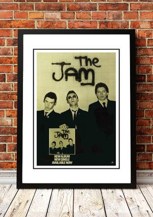 The Jam 'In The City' In Store Poster 1977