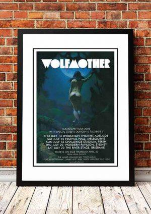 Wolfmother / Dungen / Tucker B's 'Australian Tour' 2006