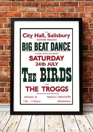 Byrds / The Troggs – 'City Hall' Salisbury UK 1965