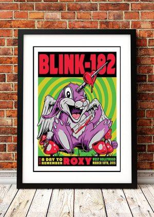 Blink 182 'Roxy' Los Angeles, USA 2015