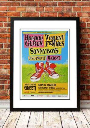 Hoodoo Gurus / Violent Femmes / Sunnyboys 'Day On The Green' Brisbane, Australia 2015