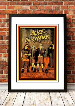 Alice In Chains 'Gothic Theater' Denver, USA 1990