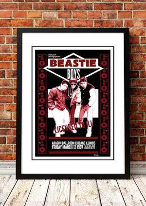 Beastie Boys 'Aragon Ballroom' Chicago, USA 2014