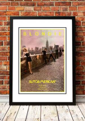 Blondie 'Autoamerican' In Store Poster 1980