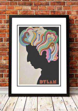 Bob Dylan 'Milton Glaser' Pop Art Poster