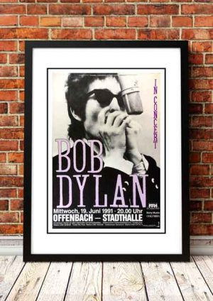 Bob Dylan 'Offenbach Stadthalle' Germany 1991