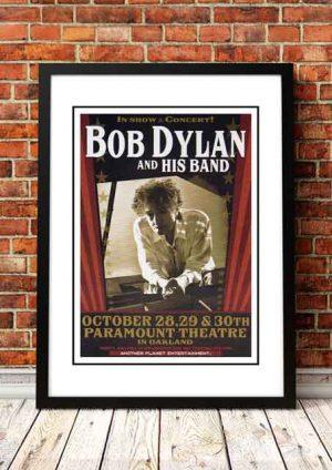 Bob Dylan 'Paramount Theater' Oakland, USA 2014