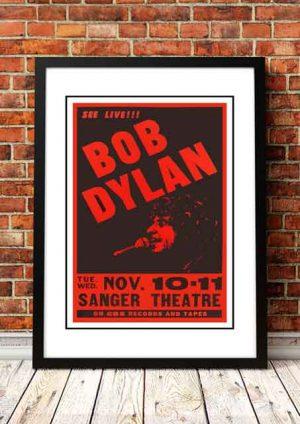 Bob Dylan 'Sanger Theater' New Orleans, USA 1981
