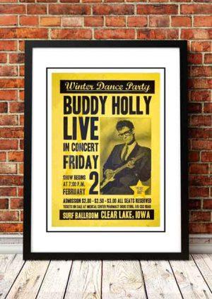 Buddy Holly 'Surf Ballroom' Clear Lake, USA 1959