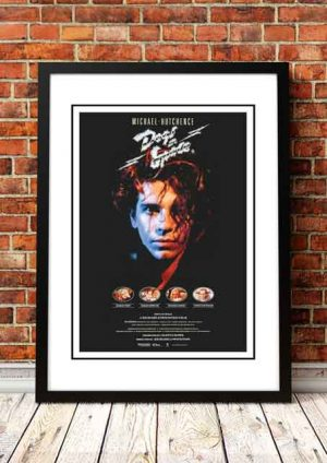 Michael Hutchence 'Dogs In Space' Movie Poster 1986