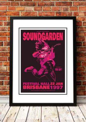 Soundgarden / You Am I 'Festival Hall' Brisbane, Australia 1997