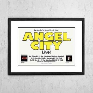 Angel City (The Angels) 'German Tour' 1980