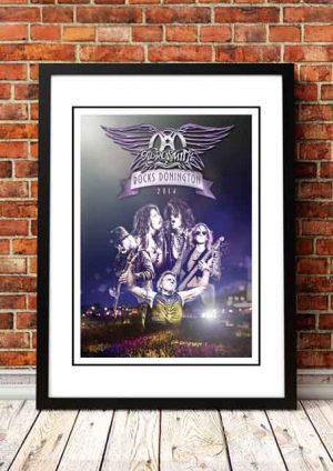 Aerosmith 'Donnington Festival' UK 2014