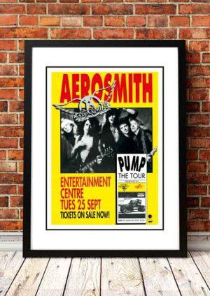 Aerosmith 'Entertainment Centre' Brisbane, Australia 1990