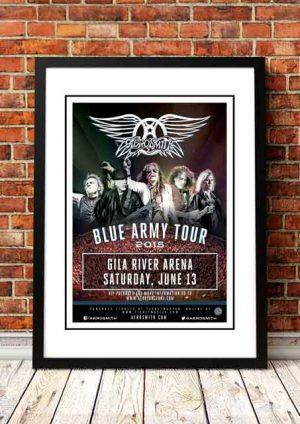 Aerosmith 'Gila River Arena' Arizona, USA 2015
