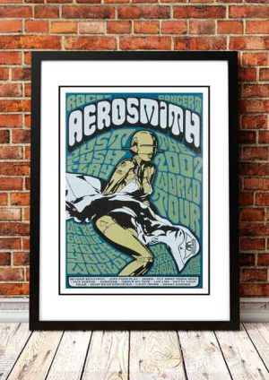 Aerosmith 'Just Push Play' World Tour 2002