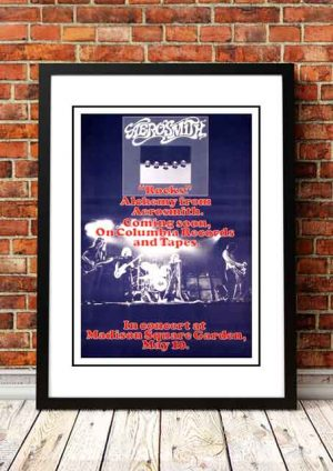 Aerosmith 'Madison Square Garden' New York, USA 1976