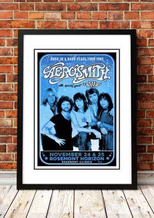 Aerosmith 'Rosemount Horizon' Illinois, USA 1982