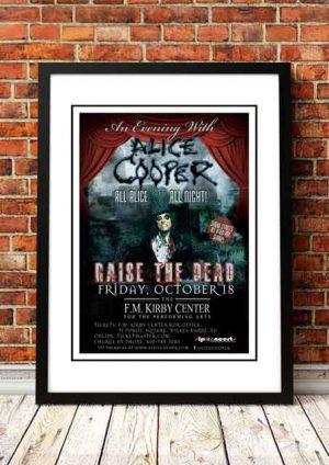 Alice Cooper 'FM Kirby Center' Wilkes-Barre, USA 2018
