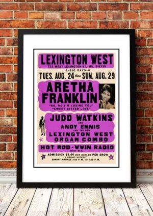 Aretha Franklin 'Lexington West' Baltimore, USA 1965