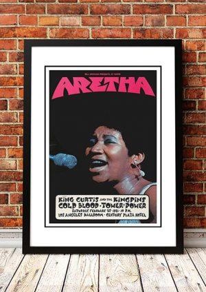 Aretha Franklin 'Century Plaza Hotel' Los Angeles, USA 1971